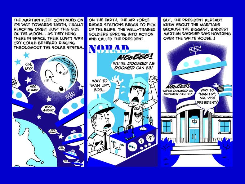 Mister Bundles VS. The Martians -- 10