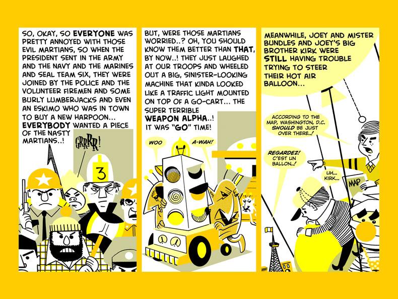 Mister Bundles VS. The Martians -- 16